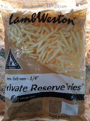 Frites lambweston privat (2,5kg)
