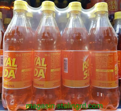 Royal soda banane (8x50cl)