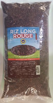 Riz long rouge de Camargue (2 kg)